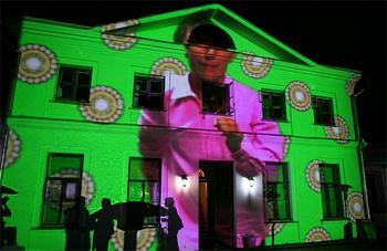 3D проекция на зданиях – маппинг