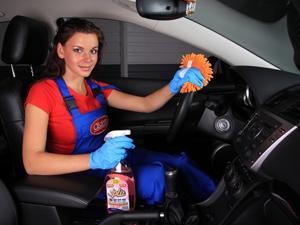 Экономия на химчистке автомобиля