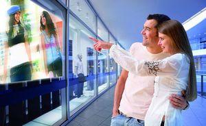 Преимущества использования видео витрины