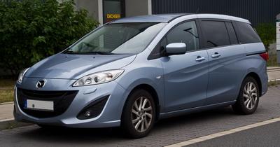 Минивэн Mazda 5: практичный автомобиль для города