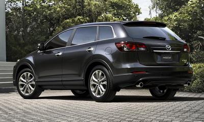 На российский рынок выходит рестайлинговая Mazda CX 9