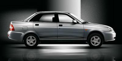 Для кузова Lada Priora седан появились новые оттенки
